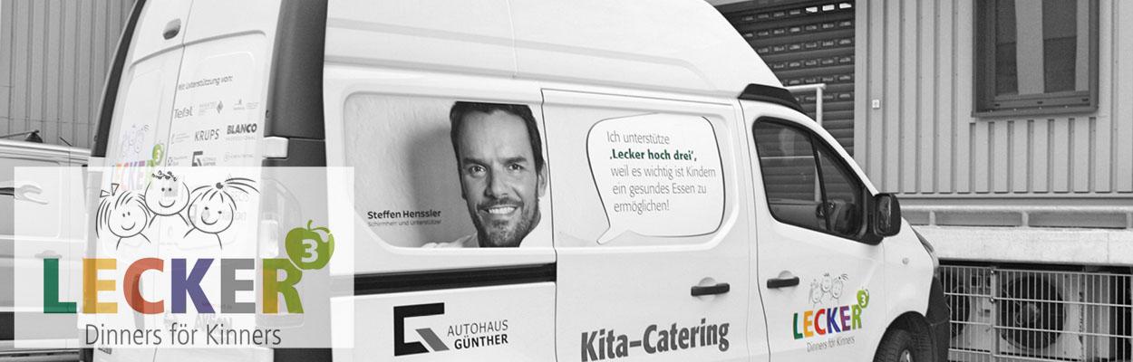 KITA CATERING / LECKER HOCH DREI
